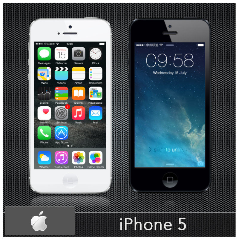 """Original Apple iPhone 5 Unlocded Smartphone 16GB/32GB ROM 4.0"""" Touchscreen Mobile Celular Dual-Core IOS 8 IWIF USED Cell phones(China (Mainland))"""