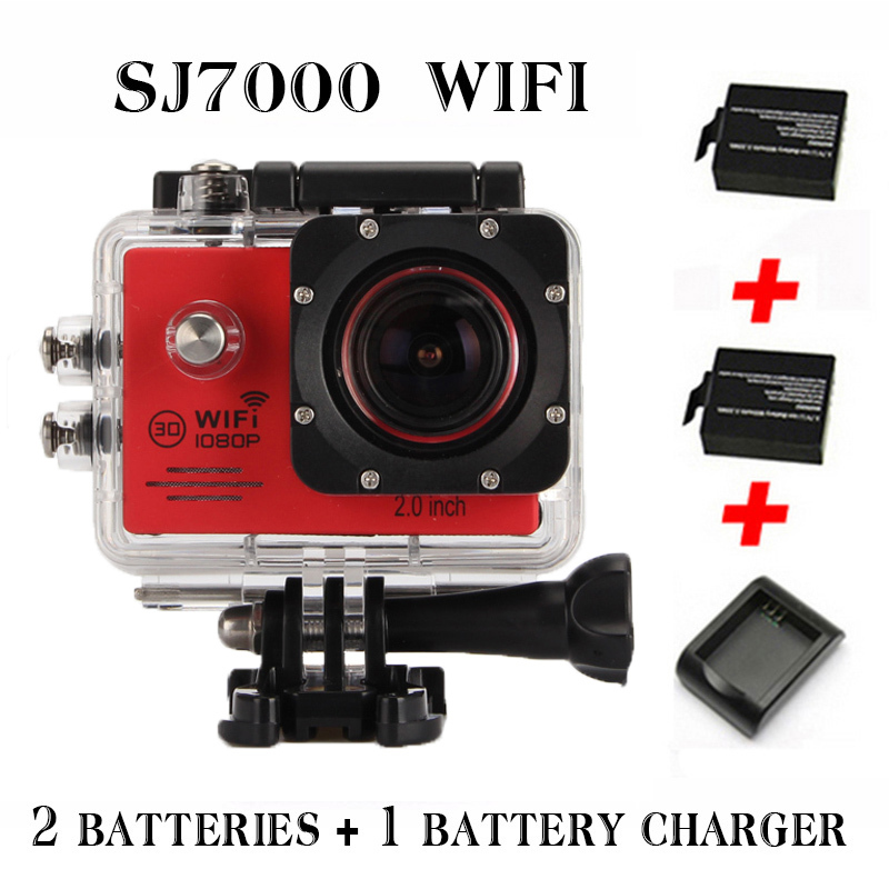 2015 New model Action Camera SJ7000 Wifi 2.0 LTPS LED Sports extreme mini cam recorder marine diving 1080P HD DV(China (Mainland))