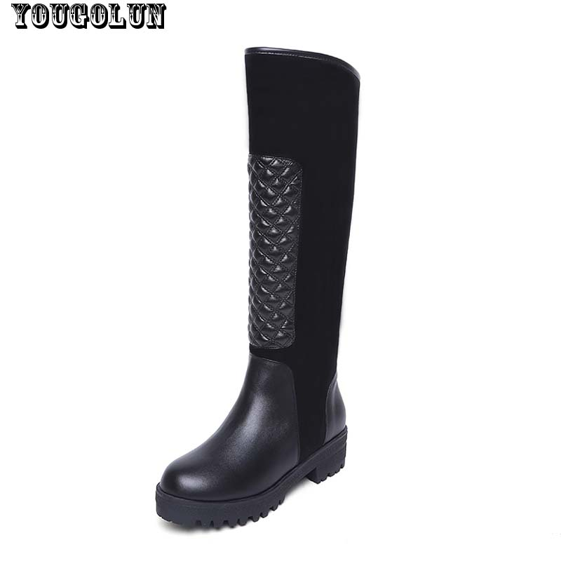 aliexpress buy yougolun winter knee high boots