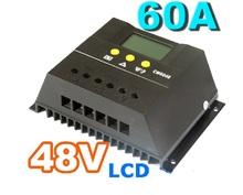 Китай професси 60A48V домой солнечной фотоэлектрической системы зарядки контроллер жк-дисплеем с регулируемым параметры