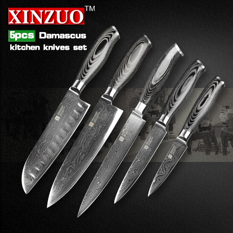 aliexpress com buy xinzuo 5 pcs kitchen knife set 73 aliexpress com buy xinzuo 5 pcs kitchen knives set 73