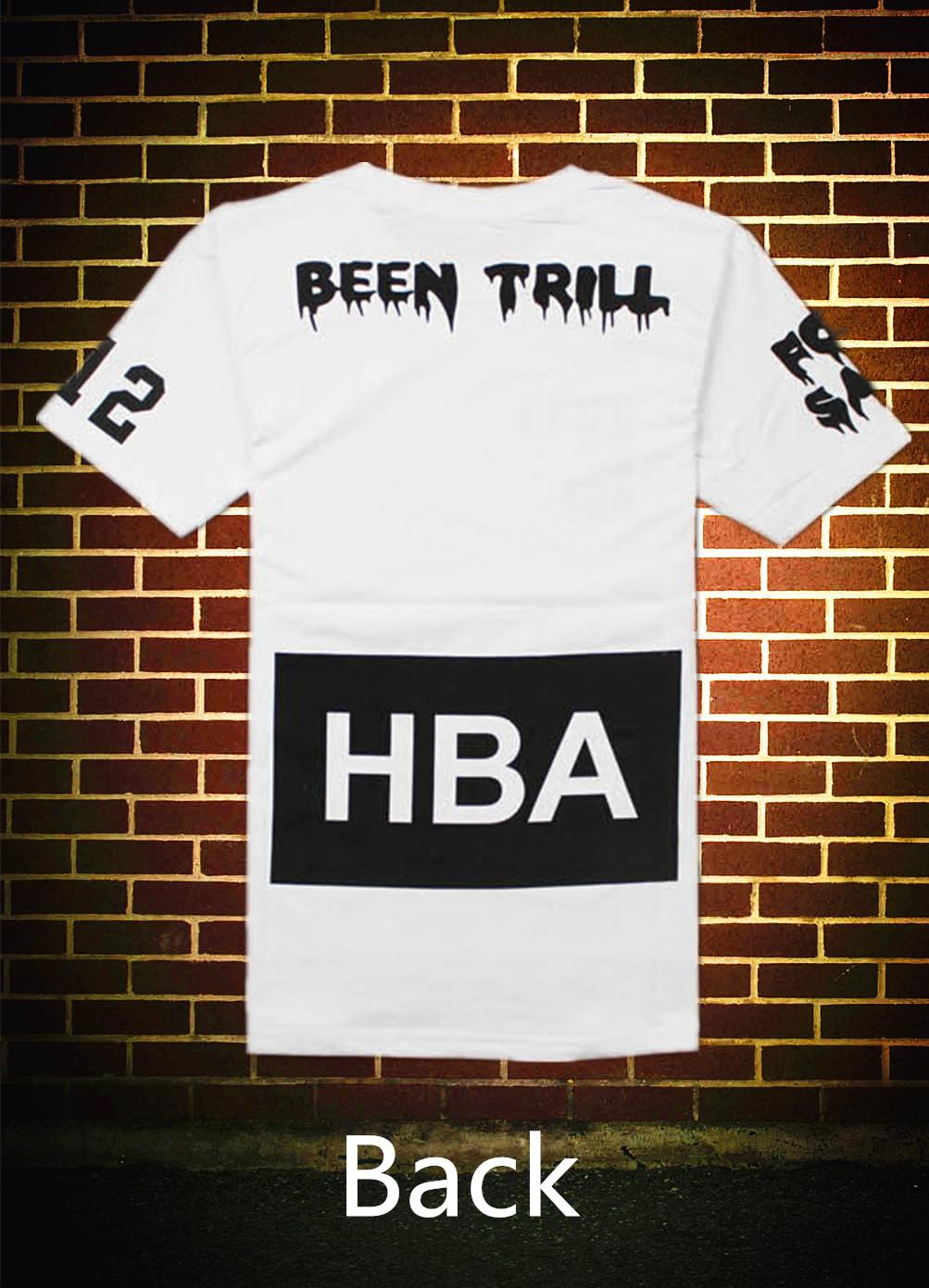 Мужская футболка HBA Shirt Men Hba t & 2014 новых bts улицы пуленепробиваемые корпус hba капот воздушные потоки t водолазка