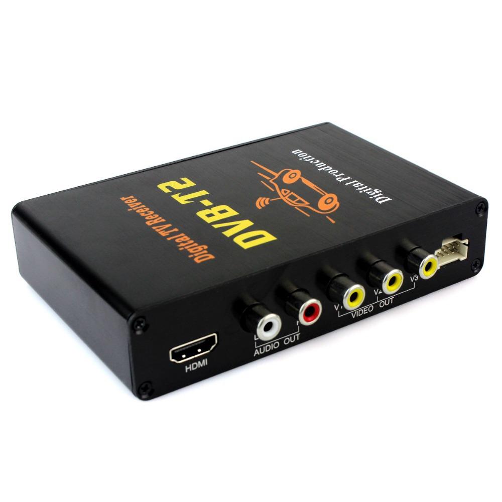 Автомобильный цифровой DVB-T2 H. 264 MPEG4 HD 1080P внешняя автоматический тюнер