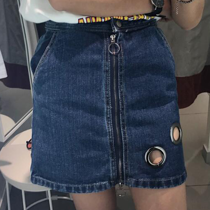 Compare Prices on Zipper Front Skirt- Online Shopping/Buy Low ...