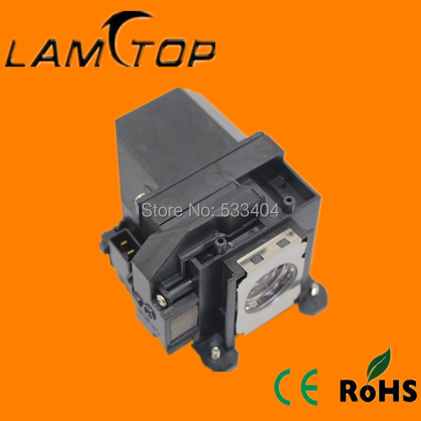 Фотография FREE SHIPPING  LAMTOP  180 days warranty  projector lamps with housing  ELPLP57/V13H010L57 for  EB-460