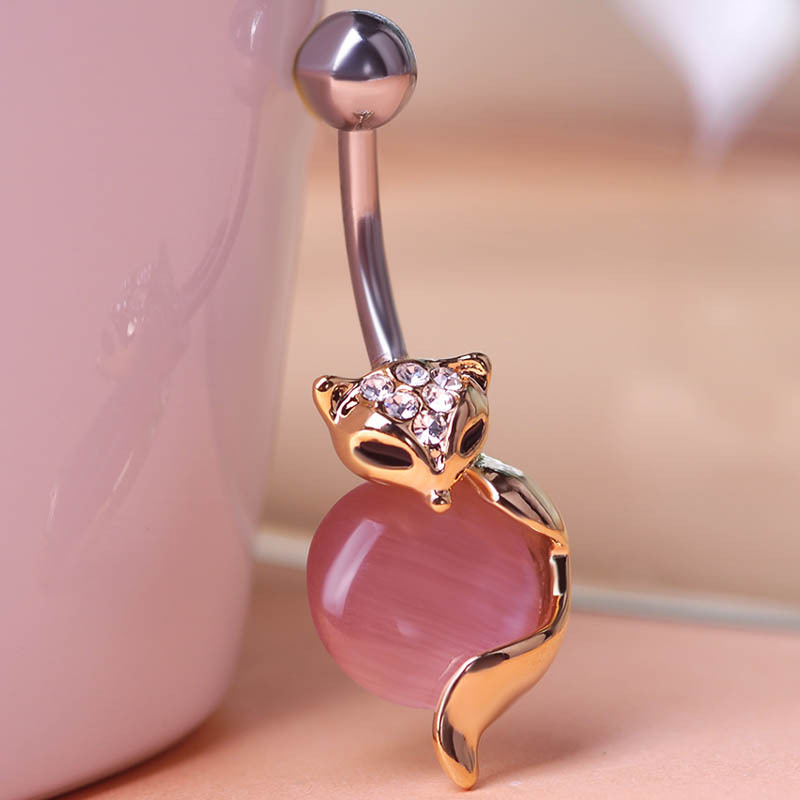 Гаджет  Illuminati 2014 New Arrival Cat Eye Animal Piercing Navel Ring 316 Steel Belly Button Ring Sexy Body Men Jewelry Violetta Gothic None Ювелирные изделия и часы