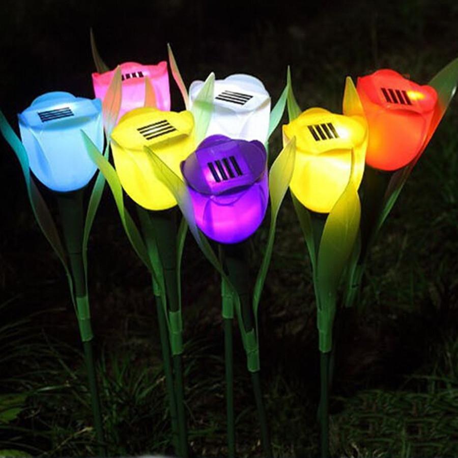 Садовые светильники и фонари на солнечных батареях
