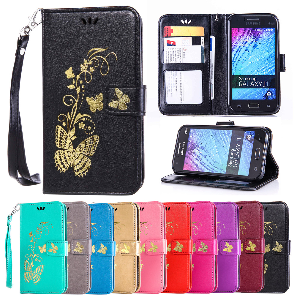 Case Samsung Galaxy J1 2015 J 1 100 J100 J100F J100H J100FN Flip Case Phone Leather Cover SM-J100F SM-J100H SM-J100FN Cases