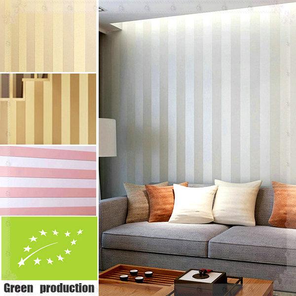 Modern joker stripes 3d wallpaper for walls non woven for Wallpaper for interior walls