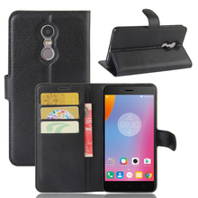 Buy Wallet Leather Cover Lenovo K6 Luxury Flip Cover Lenovo K6 Phone Case Stand Magnetic Wallet for $2.99 in AliExpress store