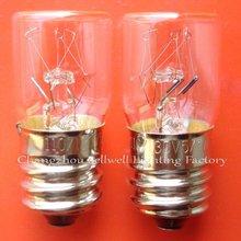 NEW!Miniature bulb light 2000pcs/lot 110v/130V 5/7W E14 T16X36 A616(China (Mainland))