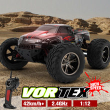 Hot Big RC Car 9115 2.4G 1:12 1/12 Scale 40KM+ RC RTR Brushed Monster Truck Off-road Car RTR 2.4GHz
