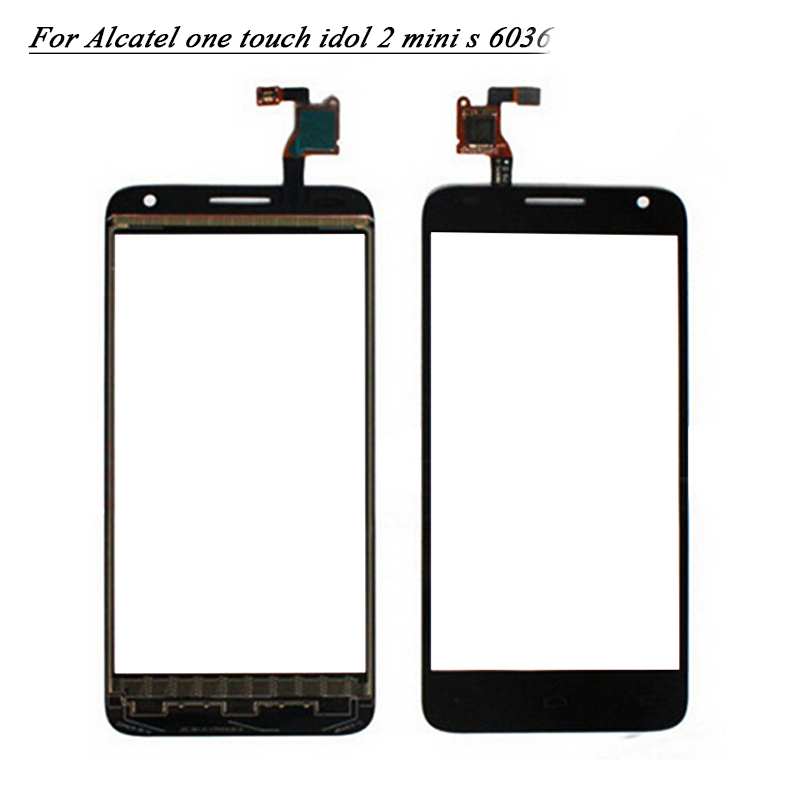 Mobile Phone Touch Screen For Alcatel One Touch Idol 2 mini s 6036Y 6036 6036A 6036D touch Sensor Digitizer Glass(China (Mainland))
