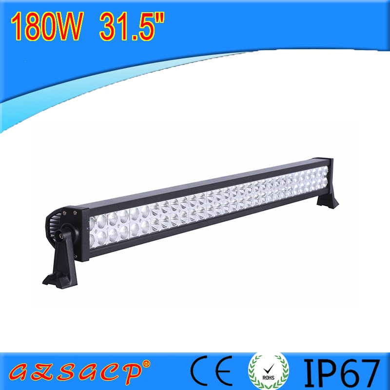 Фотография universal 31.5 inch off road LED Bar180W cre led offroad Light Bar combo Beam 4x4 car work for Truck Boat ATV Fog Lamp 12V 24V