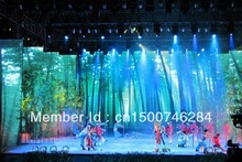 3.84m x 2.4m Full color P10 Indoor LED Display with All Accessories and Transport Freight to Brazil by Via DHL(China (Mainland))