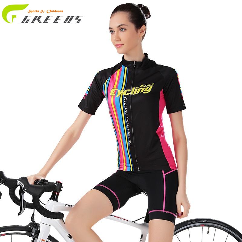 Gurensye Cycling Jersey Women Road Bicycle Roupa Ciclismo Bike motorcycle female clothing MTB Maillot Sport Jerseys(China (Mainland))