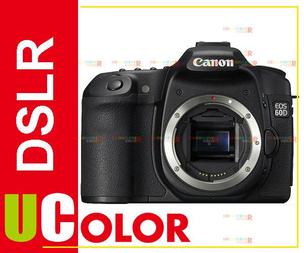 CANON EOS 60D Digital SLR camera Body Color Black(Hong Kong)