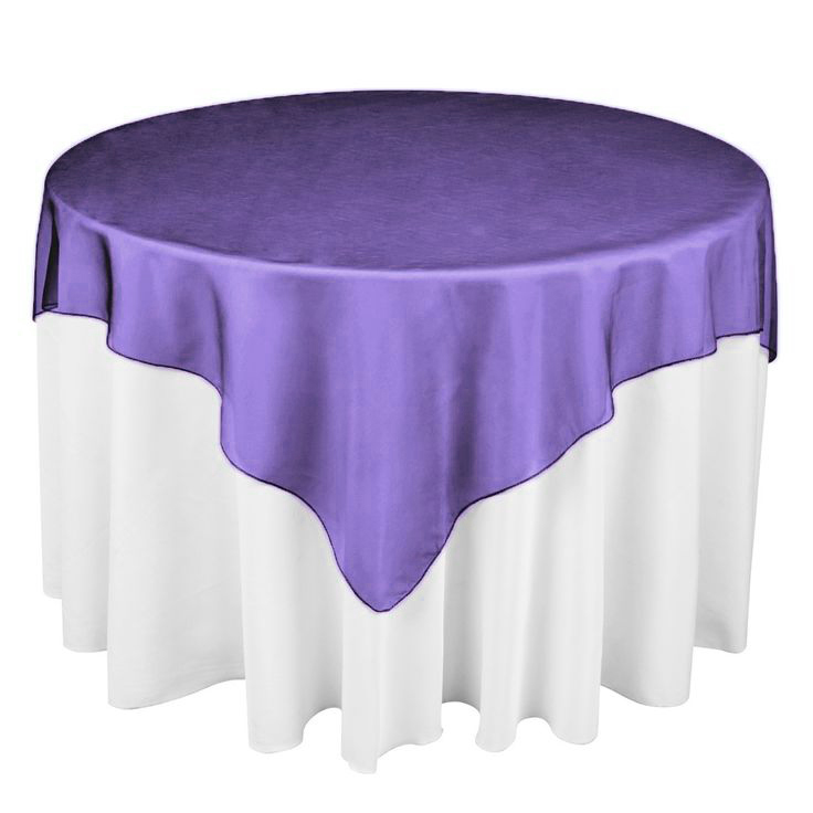 """Hot Sale 25 Colors 180cmx180cm (72""""X72"""") round shape Hotel Restaurant Organza Tablecloth Overlay party table runner(China (Mainland))"""