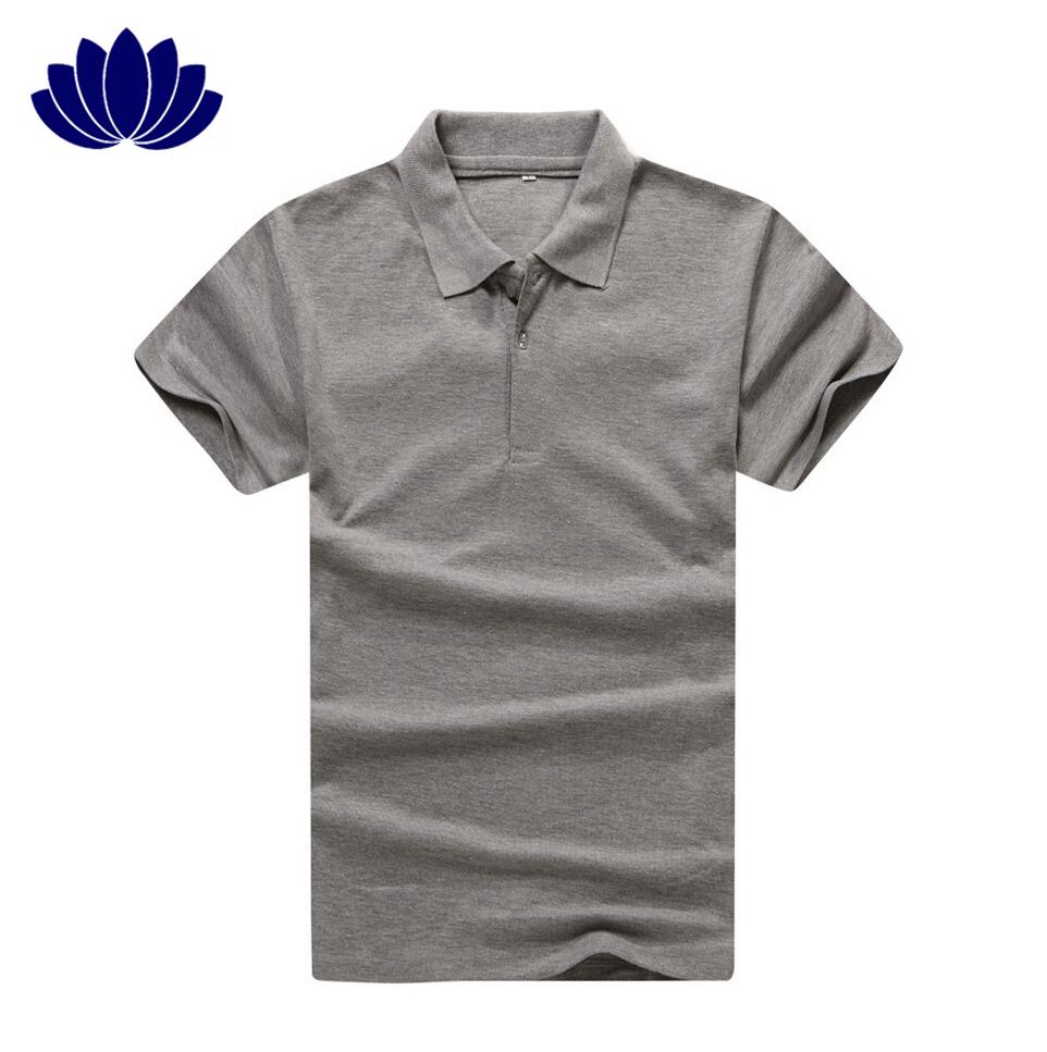 New fashion men t shirt casual short sleeve solid color turn down collar men shirt010 men
