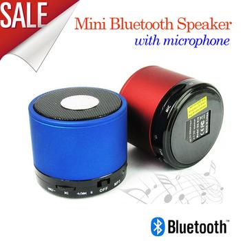 2013 New S10 Wireless Mini Speaker Bluetooth HiFi Audio player with MIC For iPhone 5 ipad 3 Ipad 4 etc, portale w TF card slot