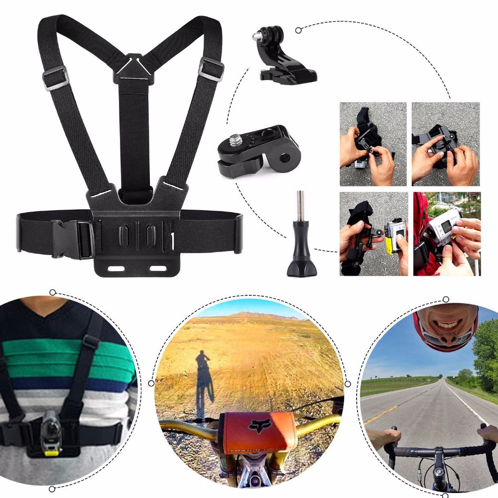 Xiaomi Yi /Ion Air Pro Kit Accessories for Sony Action Cam HDR AS15 AS20 AS200V AS30V AS100V AZ1 mini FDR-X1000V/W 4 k