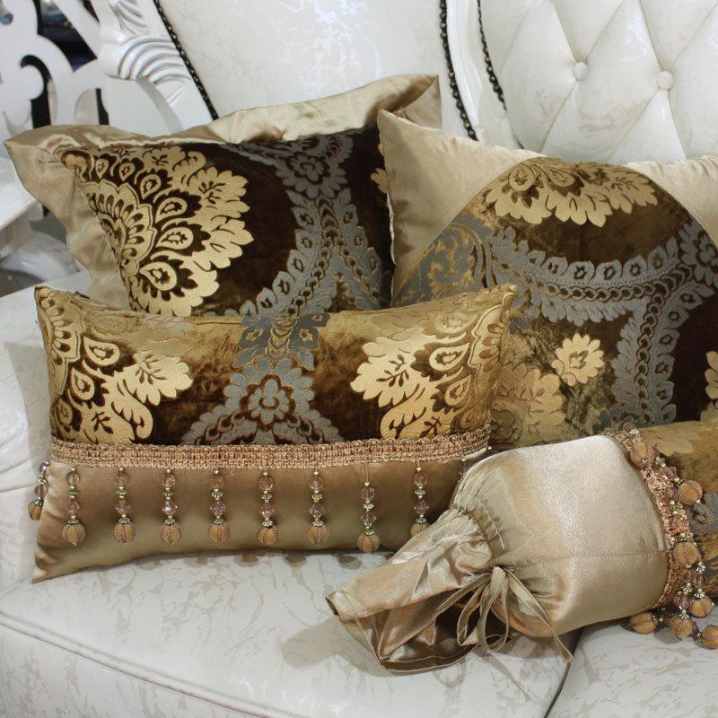 Fashion Cushion Ofhead Kaozhen Leather Sofa Cushion Luxury