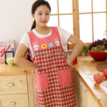 New cute Bib Kitchen Apron Cooking Pretty Chef Waiter childrens home The nurse onepiece nursery nurse(China (Mainland))