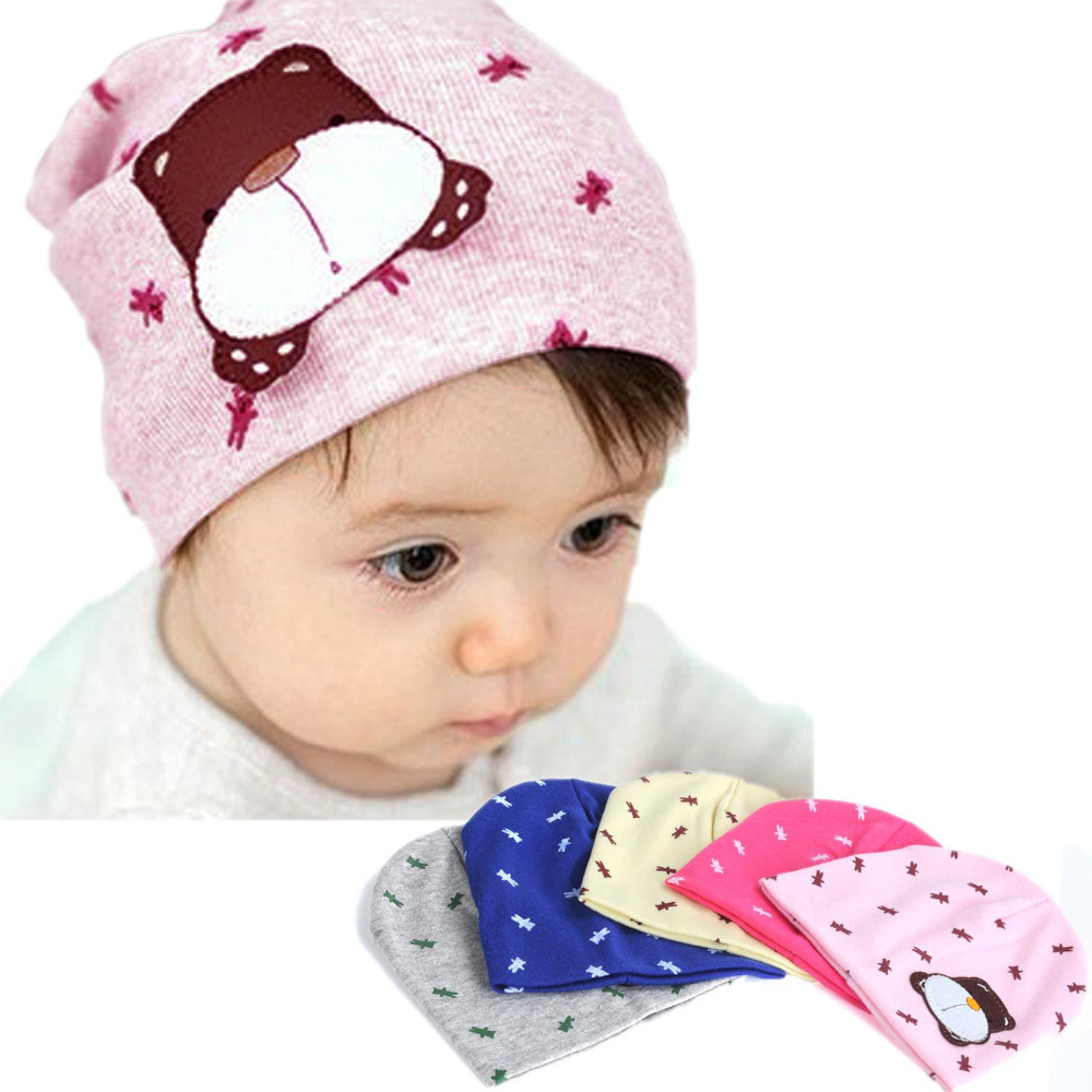 spring&autumn cartoon lovely baby hats cotton cap cute little dog pattern for baby 0-12M zx*TZ389#c3(China (Mainland))