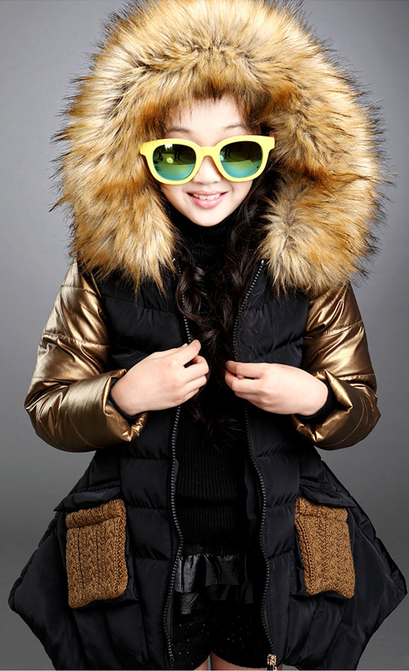 winter jacket with hood Picture - More Detailed Picture about kids ...