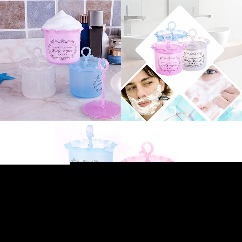 Beauty Facial Face Cleaning Foam Cleanser Device Cup Whipped Bottle Tool Unisex #73369(China (Mainland))