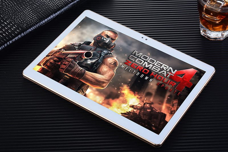 Cheapest 10 inch 3G Tablet Dual SIM 1280*800 IPS Android 4.4 ROM 16GB Quad Core Bluetooth Touch Screen Bluetooth GPS Webcam PC