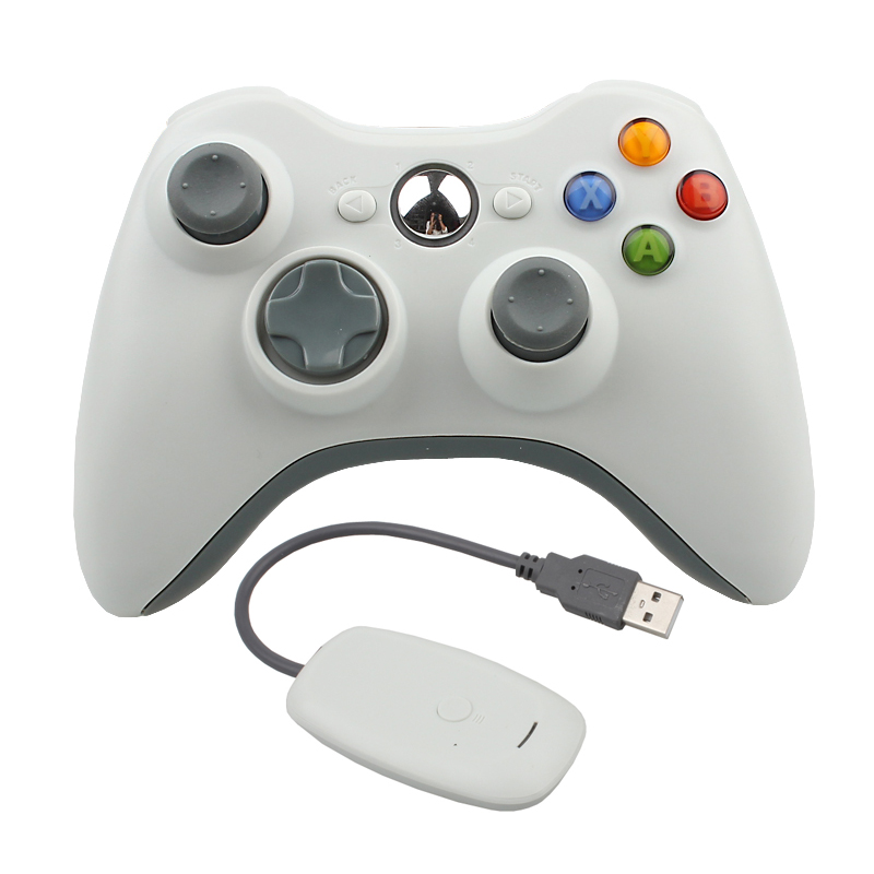 Hot Sale 2.4G Wireless Gamepad Joypad Game Remote Controller Joystick With PC Reciever For Microsoft For Xbox 360 Console(China (Mainland))