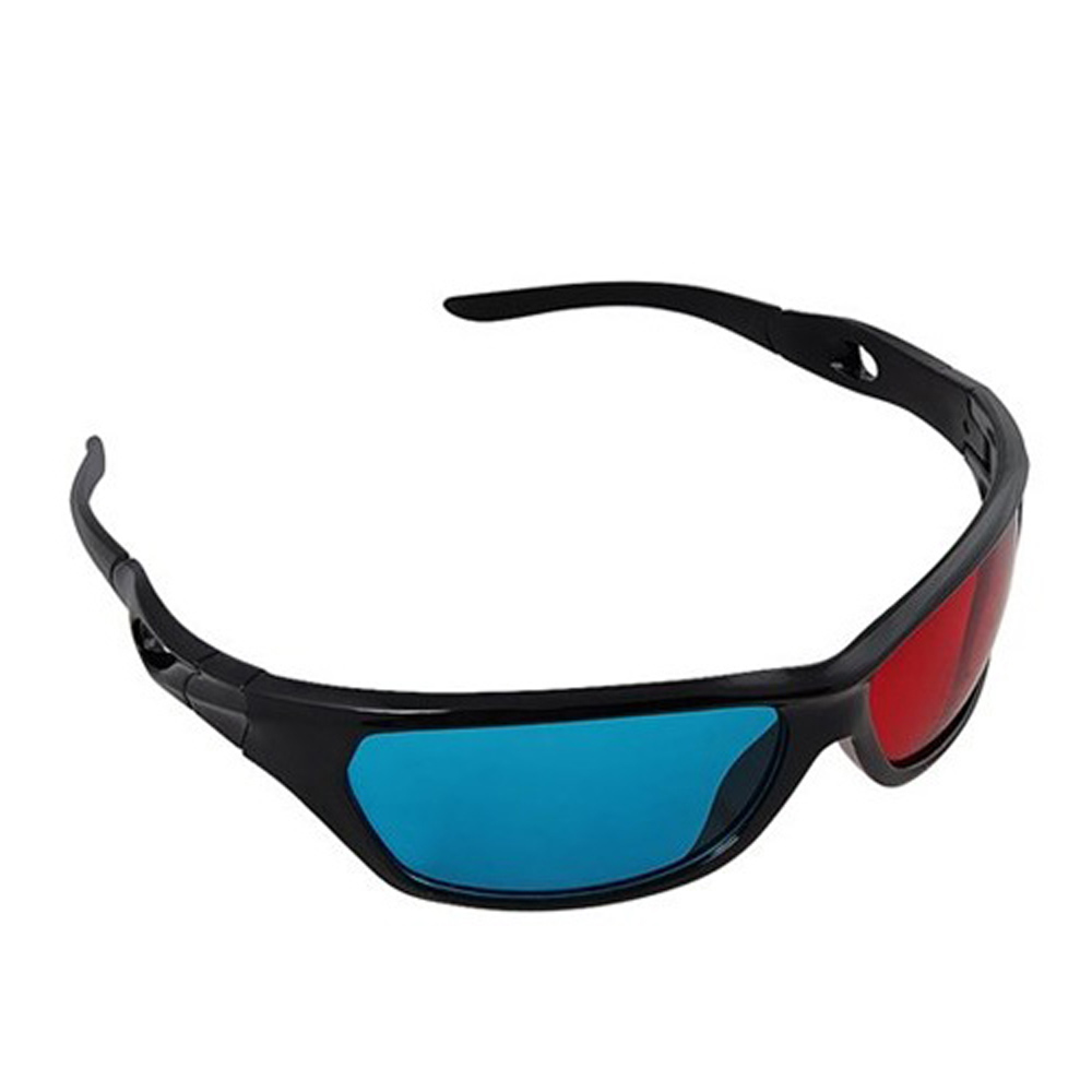 Red&blue Cyan Anaglyph Simple Style 3D Glasses 3D movie game-Extra Upgrade US Fast Shipping(China (Mainland))