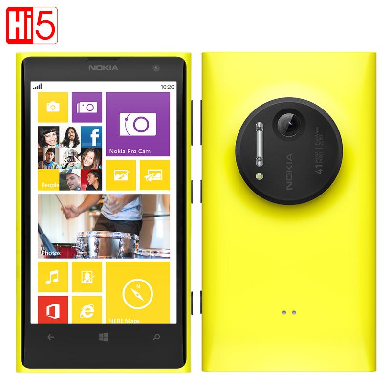 "Nokia Lumia 1020 Original 41.0MP Camera 32GB ROM 2G RAM Phone 4.5"" Touch Screen Dual Core GPS WIFI Free Gift Free shipping(China (Mainland))"