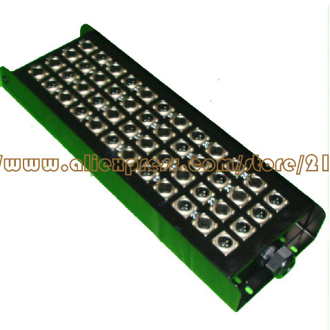 wholesale 48 signal pathway stage junction box Stage snake cable box  Multichannel audio cable junction box<br>