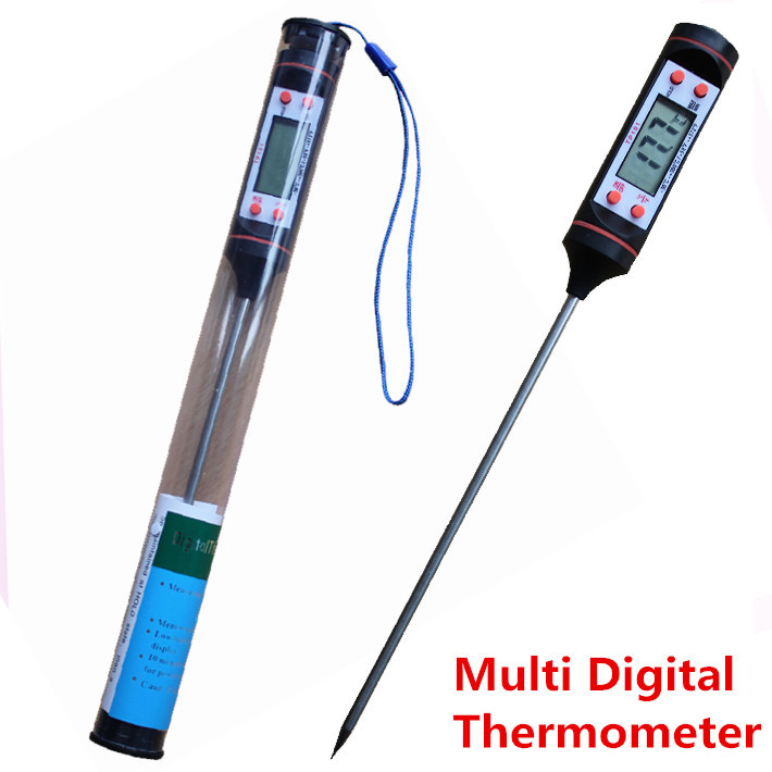 Digital Food Thermometer, Pen Style Kitchen BBQ Dining Tools Temperature Household Thermometers Cooking Termometro(China (Mainland))