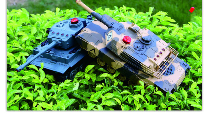 2017 Hot sell 2pcs parent-child interaction kids toy RC fliting tank HQ-508-10 Infrared Combat RC Battle Tank Toys vs GKMY-9719