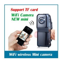 MD81 Wifi Mini dvr camera with Motion Detection in P2P & Wireless Router wireless mini dvr camera(Hong Kong)