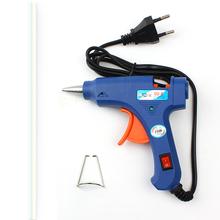 Car Windshied Repair Kit of Car Windowsl High Temp 20W Melt Glue Gun Repair Heater Tools EU Plug With 1pc Glue Stick Door Seal(China (Mainland))