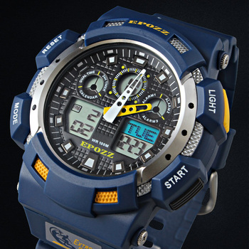 Blue Color Fashion Digital Men Watch Hours Japan Synchronous Movement S Shock G Style Epozz Relojes de Hombre Waterproof 100 M
