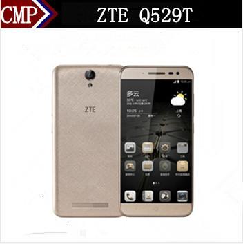 "Original ZTE Q529T Mobile Phone MTK6735 Quad Core Android 5.1 5"" IPS 1280X720 1GB RAM 8GB ROM 8.0MP OTG 4080mAh Big Battery(China (Mainland))"