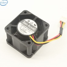 Buy Original 40*40*28mm Blower Fan 109P0412K3013 San ACE 40 1U Server Fan Cooling Fan 12V 0.55A 3 Wires Server Fan for $7.66 in AliExpress store