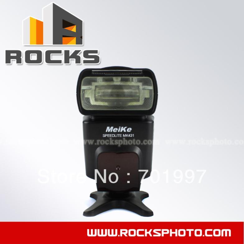 MeiKe MK-431 TTL Flash Speedlite suit for Canon 650D/600D/550D/500D/450D/400D/1100D<br><br>Aliexpress