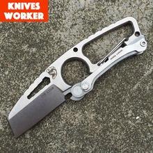 Dpx engranaje golpe Pocket cuchillo que acampa plegable exterior herramienta del cortador cuchillos de la supervivencia cuchillo táctico CPM-S35VN polvo hoja de acero S35VN