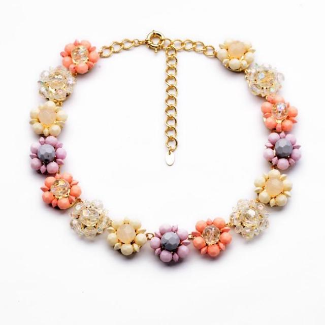 product  2014 New fashion hot selling Pure and fresh and natural flower pendant necklace Summer joker adorn article
