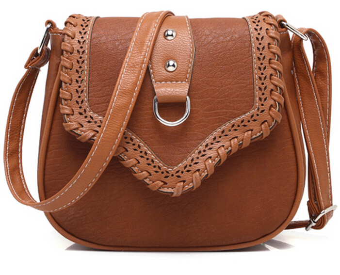 women's leather bag handbag messenger bag for women brand crossbody bag fashion woman shoulder bag  B50706B2