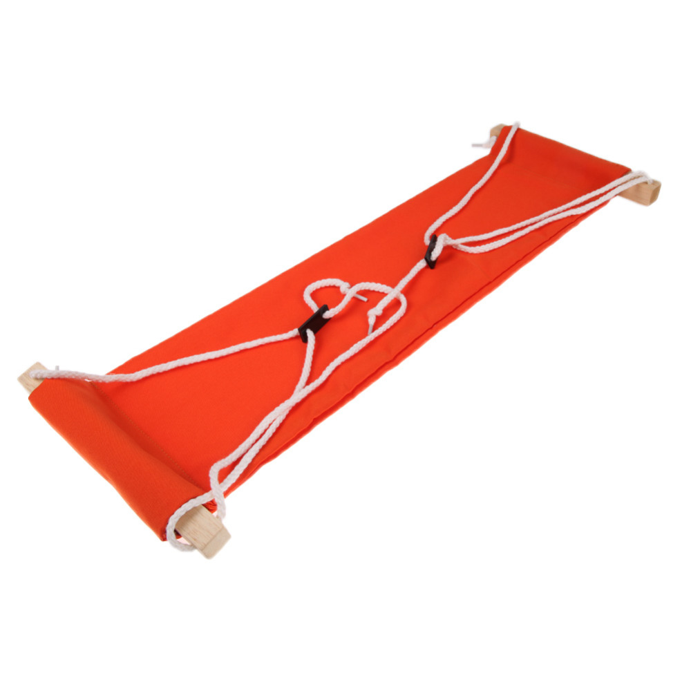 D1U# Office Foot Rest Stand Desk Feet Hammock Easy to Disassemble Study Indoor Orange Free Shipping(China (Mainland))