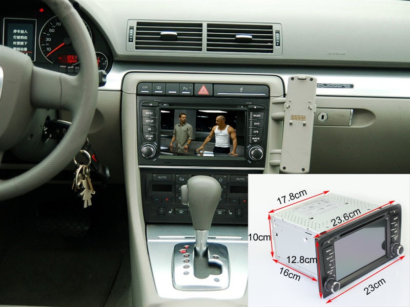 7 Android 4 4 4 OS Wifi 3G Car DVD Player GPS Nav Radio Stereo for