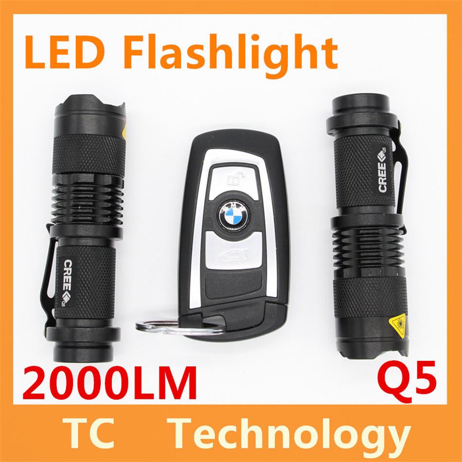 Q5 Self Defense Light Ultrafire 2000LM LED Flashlight Tactical 3 Modes Zoomable Lanterna LED Diving Flashlight Linterna LED Lamp(China (Mainland))