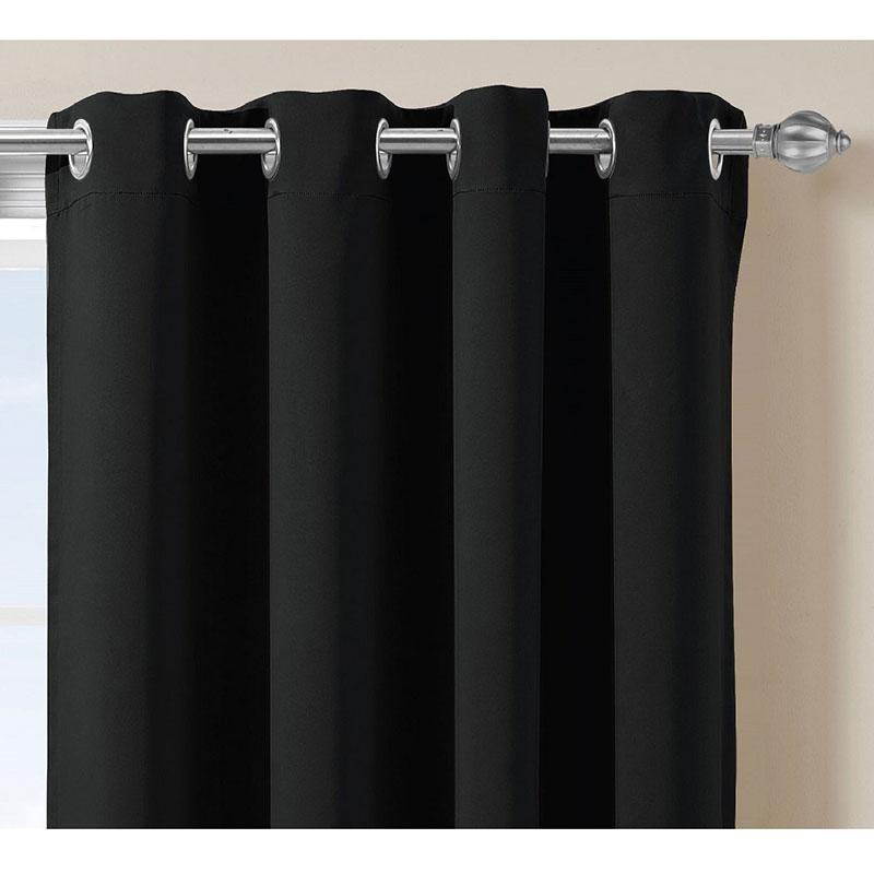 court thermique rideaux promotion achetez des court. Black Bedroom Furniture Sets. Home Design Ideas